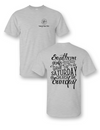 Sassy Frass Southern Girls Never Miss Game on Saturday & Church on Sundays Girlie Bright T Shirt