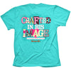 Cherished Girl Crafted in his Image Christian Girlie Christian Bright T Shirt - SimplyCuteTees