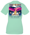 Simply Southern Preppy Take It Easy T-Shirt