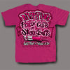 Sweet Thing Funny Nurse Fixin Cuts Neon Pink RN CNA LPN Girlie Bright T-Shirt - SimplyCuteTees