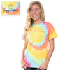 Simply Southern Preppy TieDye Pattern Save The Turtles Collection T-Shirt