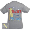 Girlie Girl Originals Preppy Dedicated Teacher T-Shirt