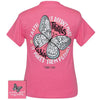 Girlie Girl Originals Preppy Faith Makes Things Possible Butterfly T-Shirt