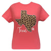 Girlie Girl Originals Preppy Texas Leopard State T-Shirt