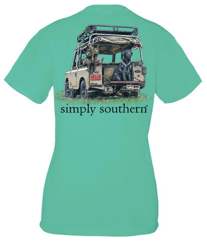 Simply Southern Duck Lab Jeep Unisex T-Shirt