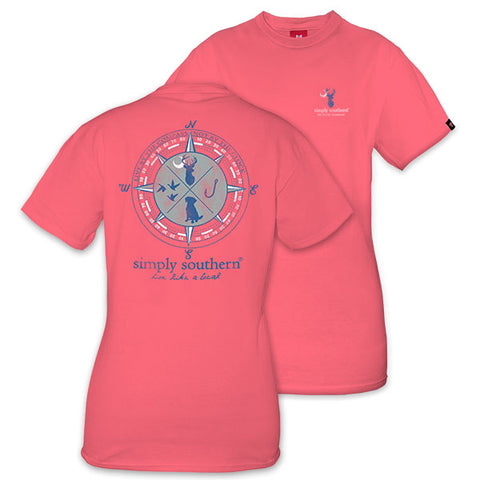 Simply Southern Hunting Compass Unisex T-Shirt