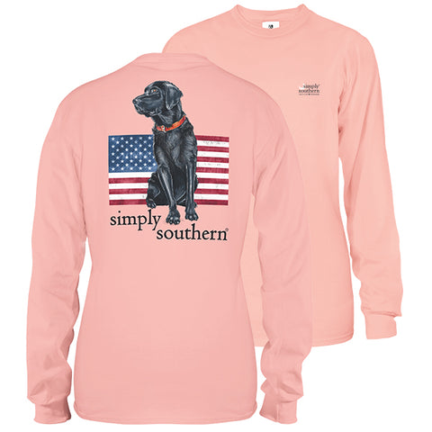 Simply Southern USA Dog Long Sleeve Unisex T-Shirt