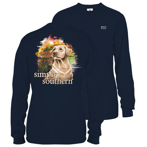 Simply Southern Yeller Dog Long Sleeve Unisex T-Shirt
