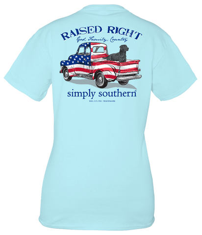 Simply Southern USA Vintage Truck Unisex T-Shirt