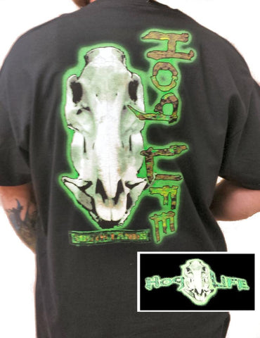 Country Life Outfitters Hog Life Neon Green Vintage Unisex Bright T Shirt - SimplyCuteTees