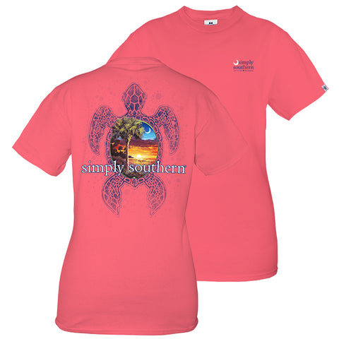 Simply Southern Sunset Turtle Unisex T-Shirt