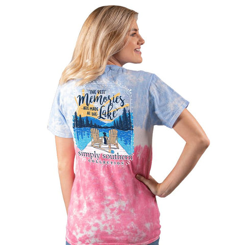 Simply Southern Memories Are Made At The Lake Tie Dye T-Shirt
