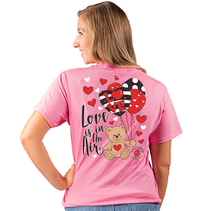 Simply Southern Preppy Love Is In The Air Valentine T-Shirt