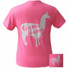 Bjaxx Lilly Paige Drama Llama Girlie Bright T Shirt