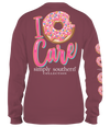 Simply Southern Preppy I Donut Care Long Sleeve T-Shirt