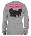 Simply Southern True Love Pups Dog Long Sleeve T-Shirt
