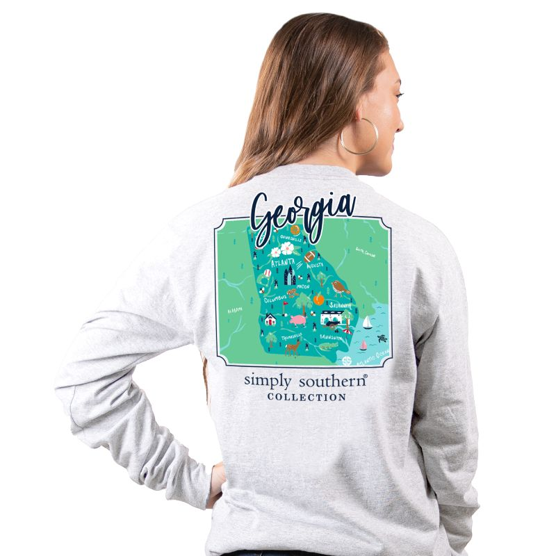 Simply Southern Georgia State Long Sleeve T-Shirt