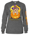 SALE Simply Southern Hocus Pocus Dog Halloween Long Sleeve T-Shirt