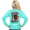 Simply Southern Christmas Movies Coffee Repeat Long Sleeve T-Shirt