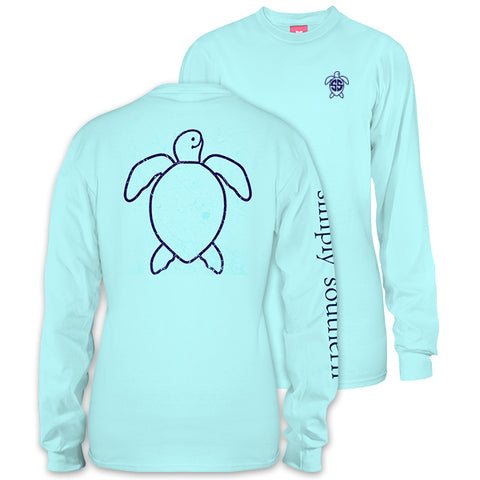 Simply Southern Save The Turtles Collection Vintage Logo Long Sleeve T-Shirt