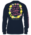 Simply Southern Sour Sweeten It With Kindness Long Sleeve T-Shirt