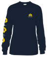 Simply Southern Preppy Bee Sunflower Long Sleeve T-Shirt