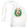 SALE Youth Simply Southern Preppy Xmas LLama Holiday Long Sleeve T-Shirt