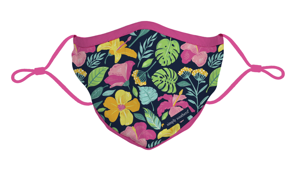 Simply Southern Preppy Garden Protective Mask