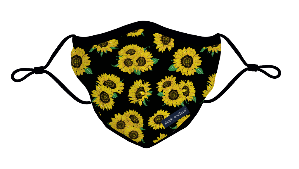 Simply Southern Preppy Sunflower Protective Mask
