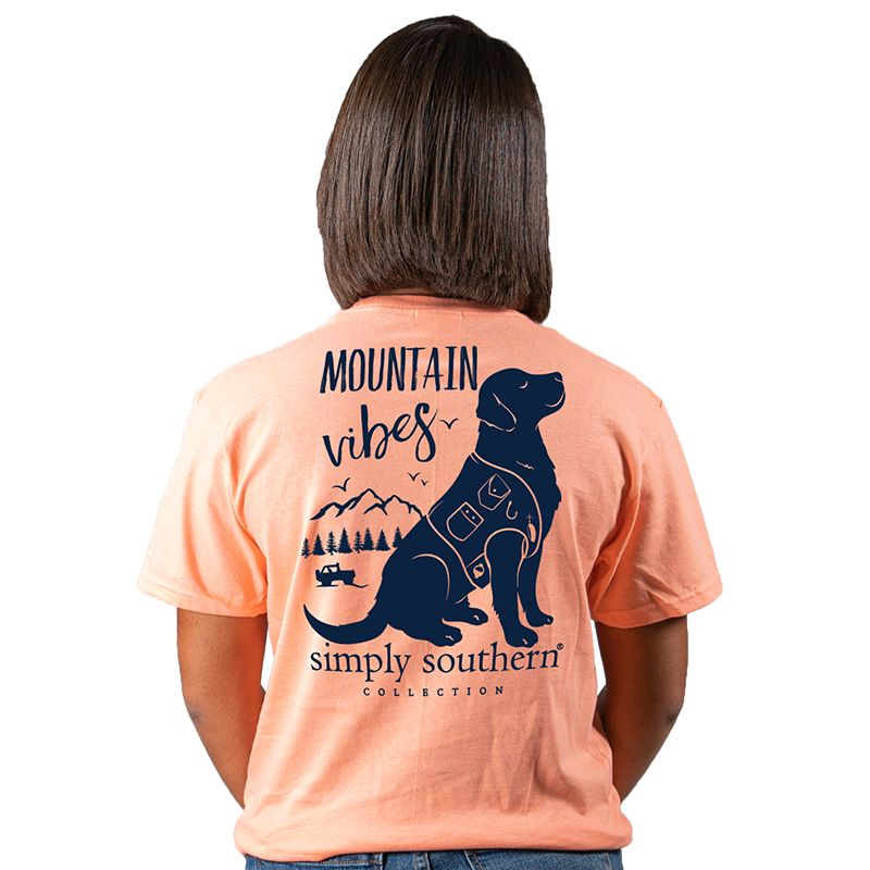 Simply Southern Preppy Mountain Vibes Dog T-Shirt