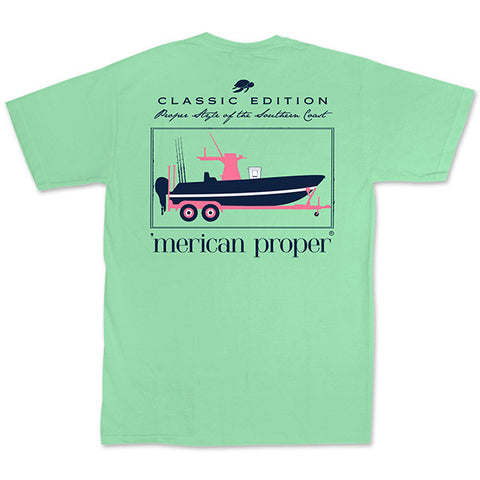 Merican Proper Southern Boat Pigment Dyed T-Shirt