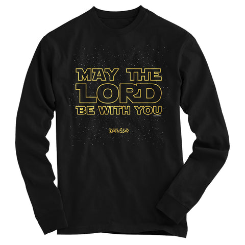 Kerruso May the Lord Be With You Star Cherished Wars Christian Bright Long Sleeve T Shirt - SimplyCuteTees