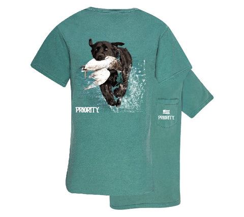Southern Couture Priority Lab Duck Pocket Unisex T-Shirt - SimplyCuteTees