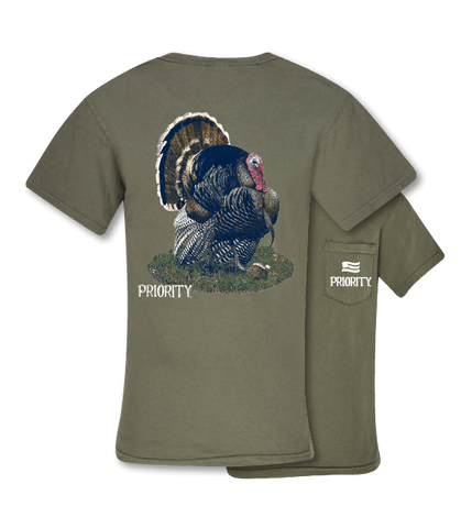 Southern Couture Turkey Pocket Unisex Bright T Shirt
