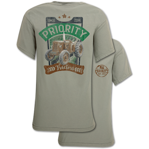 Couture Priority Tractors Comfort Colors Unisex T-Shirt
