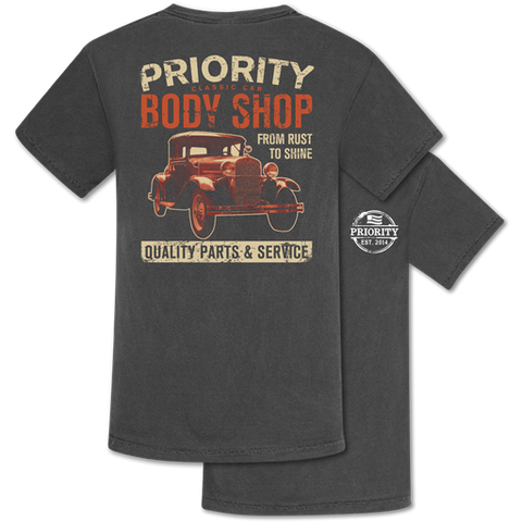 Couture Priority Body Shop Comfort Colors Unisex T-Shirt