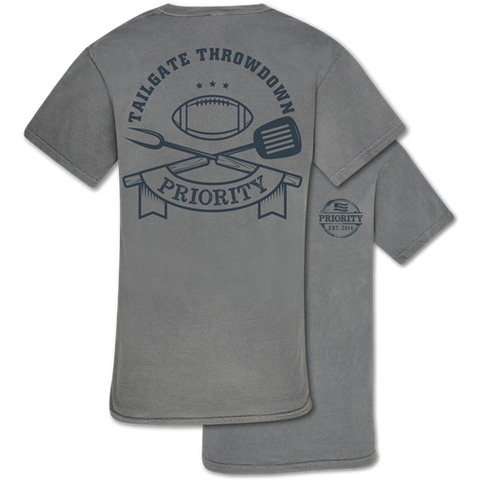 Couture Priority Tailgate Football Comfort Colors Unisex T-Shirt