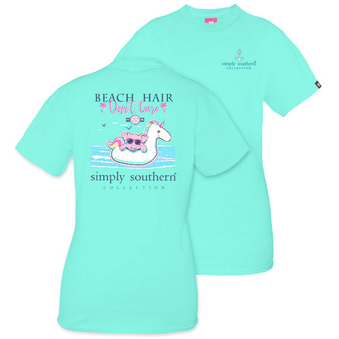Simply Southern Preppy Beach Hair Dont Care T-Shirt