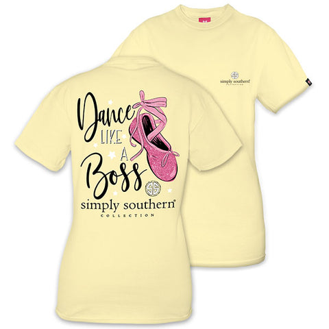 Simply Southern Preppy Dance Like A Boss T-Shirt