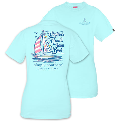 Simply Southern Preppy Floats Your Boat T-Shirt