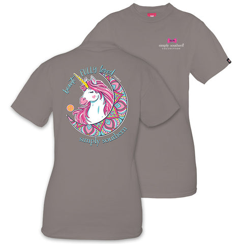 Simply Southern Preppy Beautifully Loved Unicorn T-Shirt