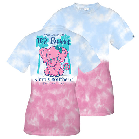 fbdcabed7800a Simply Southern Preppy Irr Elephant Tie Dye T-Shirt