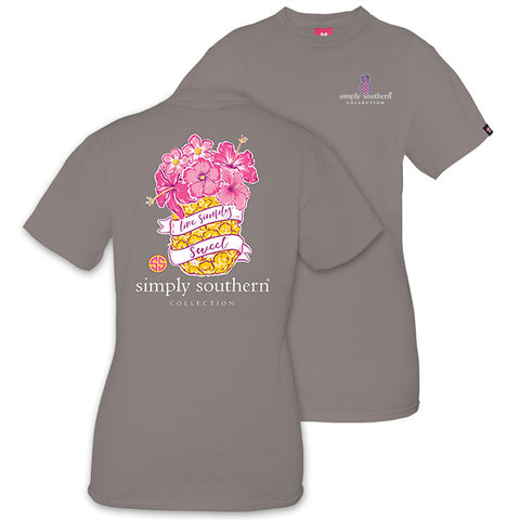 Simply Southern Preppy Rose Sweet Pineapple T-Shirt