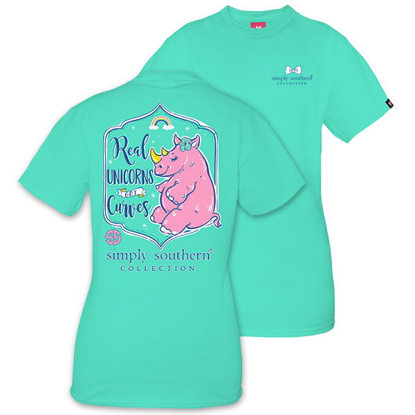 d0f5093d9 Simply Southern Preppy Unicorn Rhino T-Shirt | SimplyCuteTees