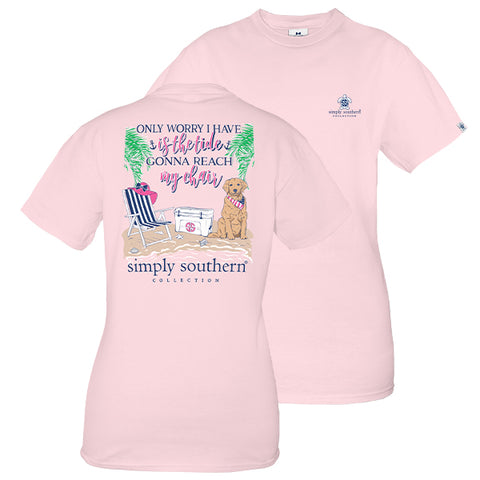 5d6eb349dad Simply Southern Preppy Beach Tide Chair T-Shirt