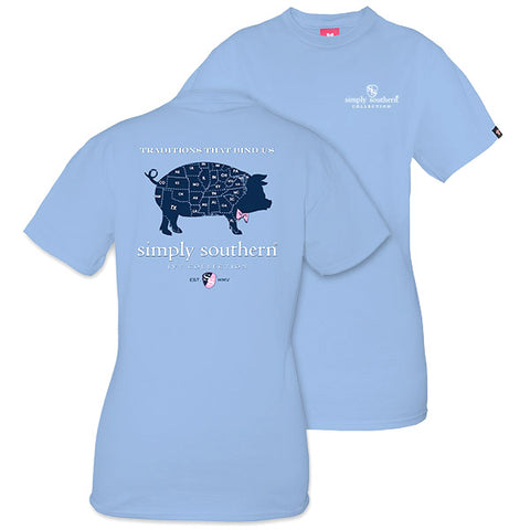 Simply Southern Preppy States Pig Ivy Collection Unisex T-Shirt