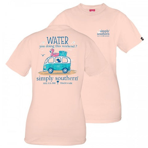 Simply Southern Preppy Water You Doing This Weekend T-Shirt