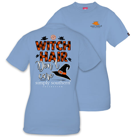 Simply Southern Preppy Witch Hair Don't Care Fall T-Shirt