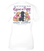 Simply Southern Preppy Rescue A Puppy Dog T-Shirt