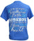 Country Life Outfitters Southern Attitude Southern Belle to Redneck Bright T-Shirt
